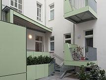 Baubeginn Sechshaus