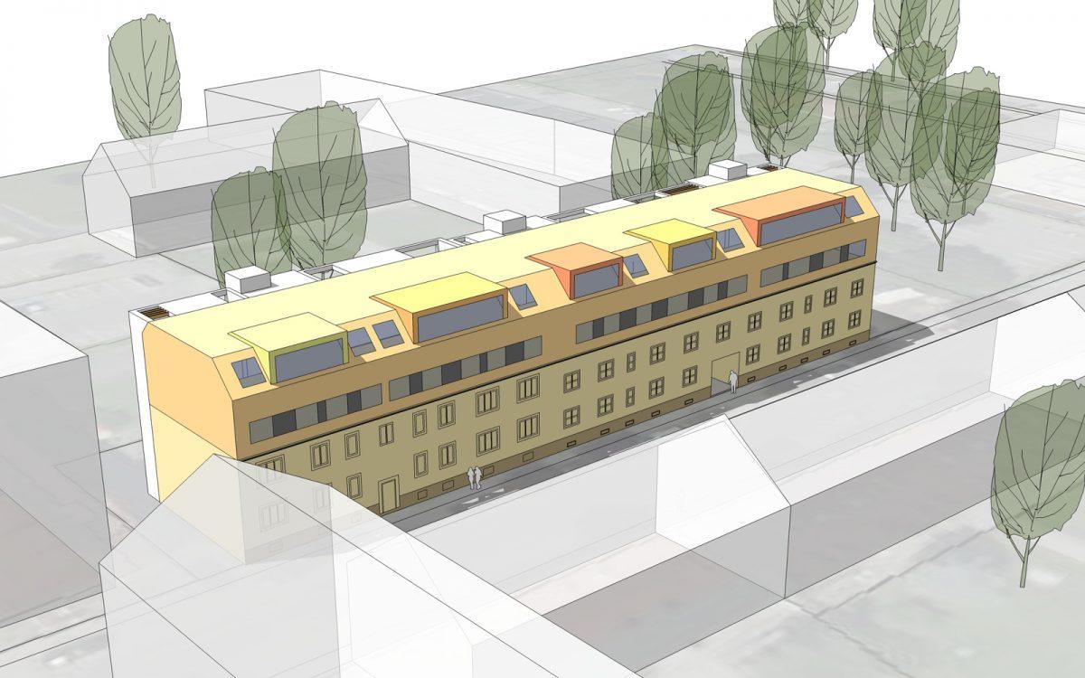 Sanierung Wohnhaus St.Pölten