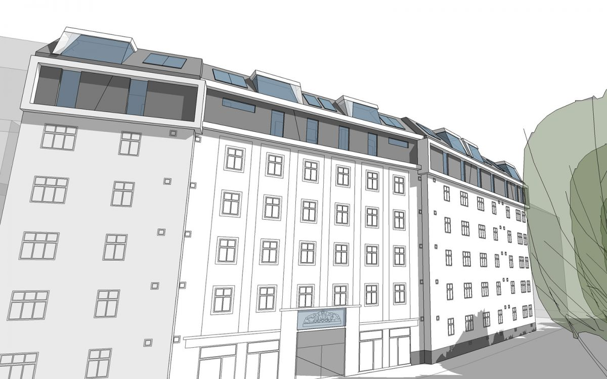 Sanierung 1050 Wiener Wohnen