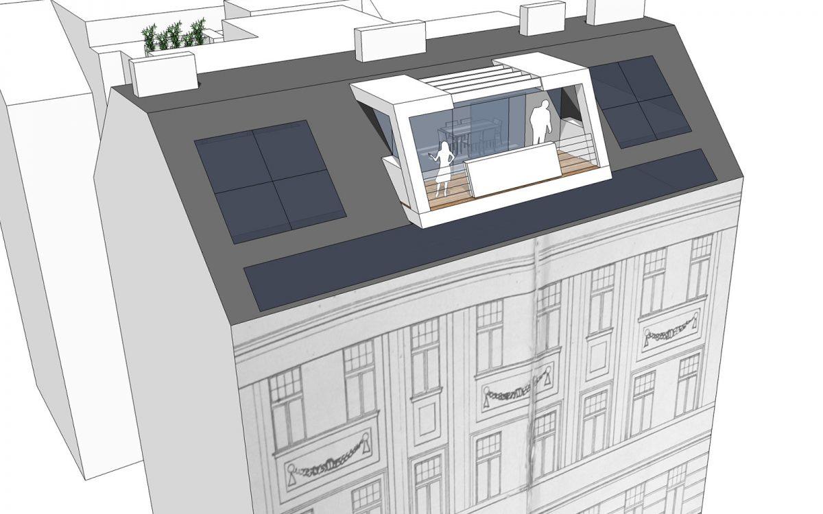 Dachgeschossausbau 1090