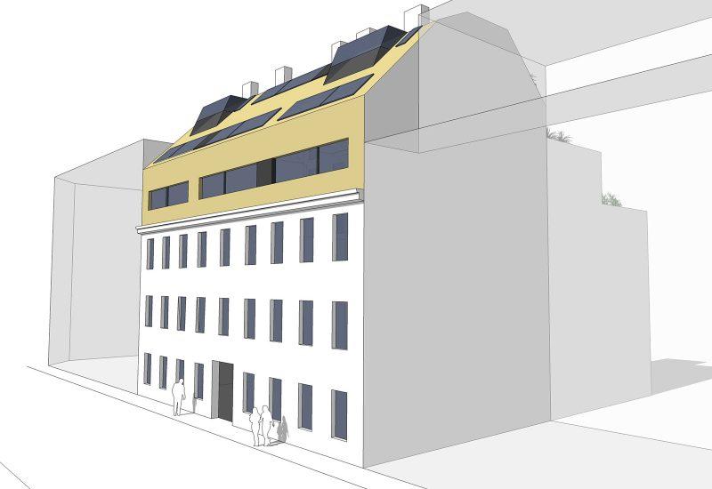 Dachgeschossausbau 1150