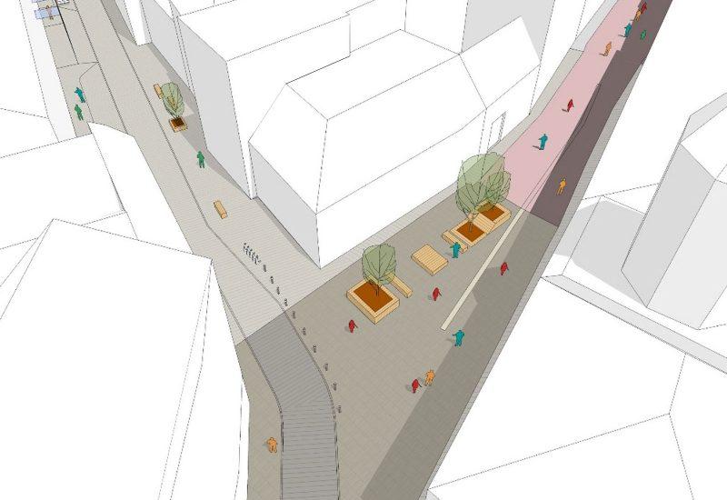 Blocksanierung Linzer Straße