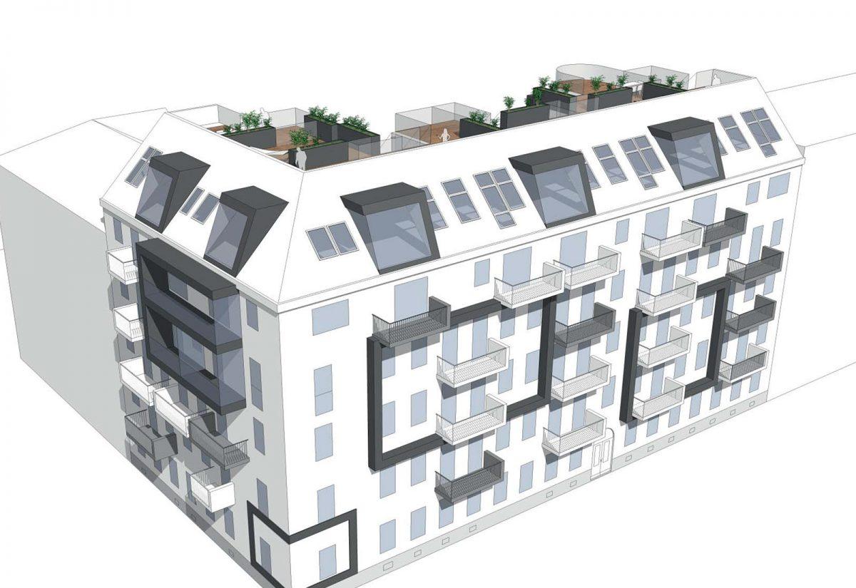 Dachgeschossausbau 1200