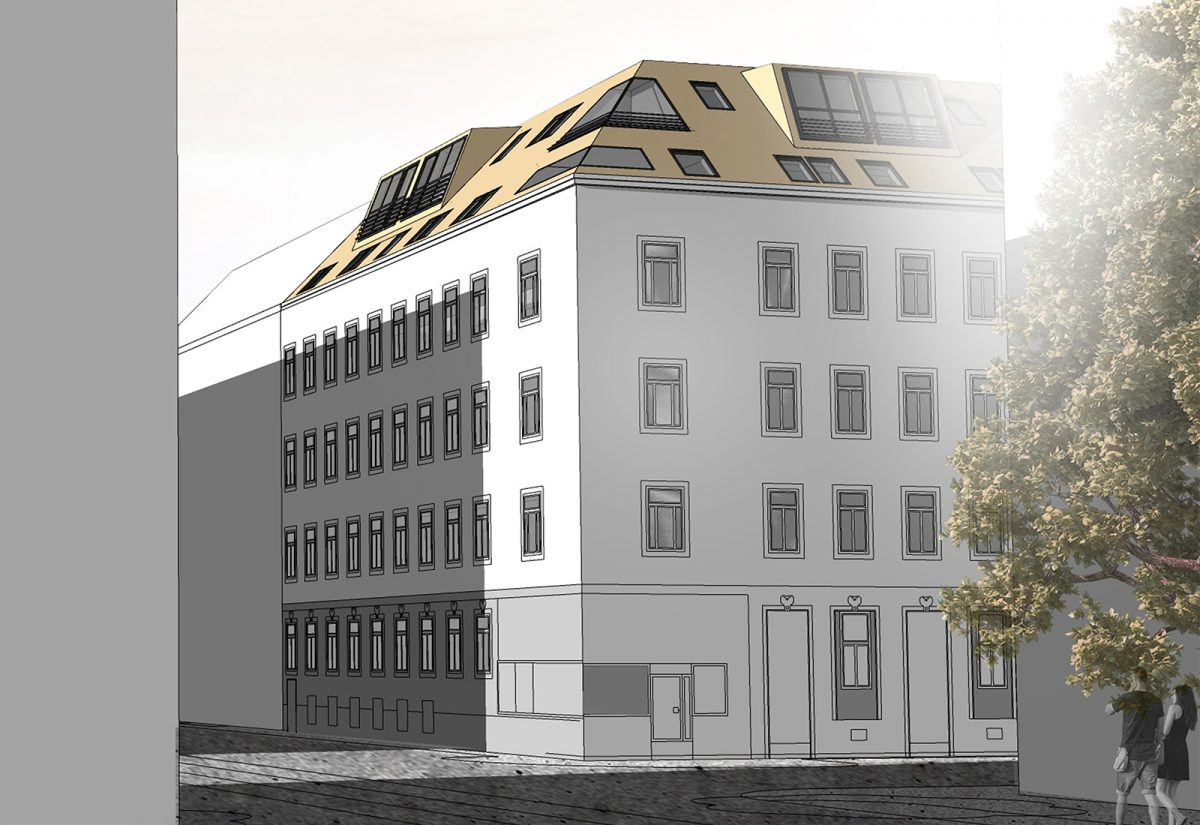 Dachausbau Hanserstraße