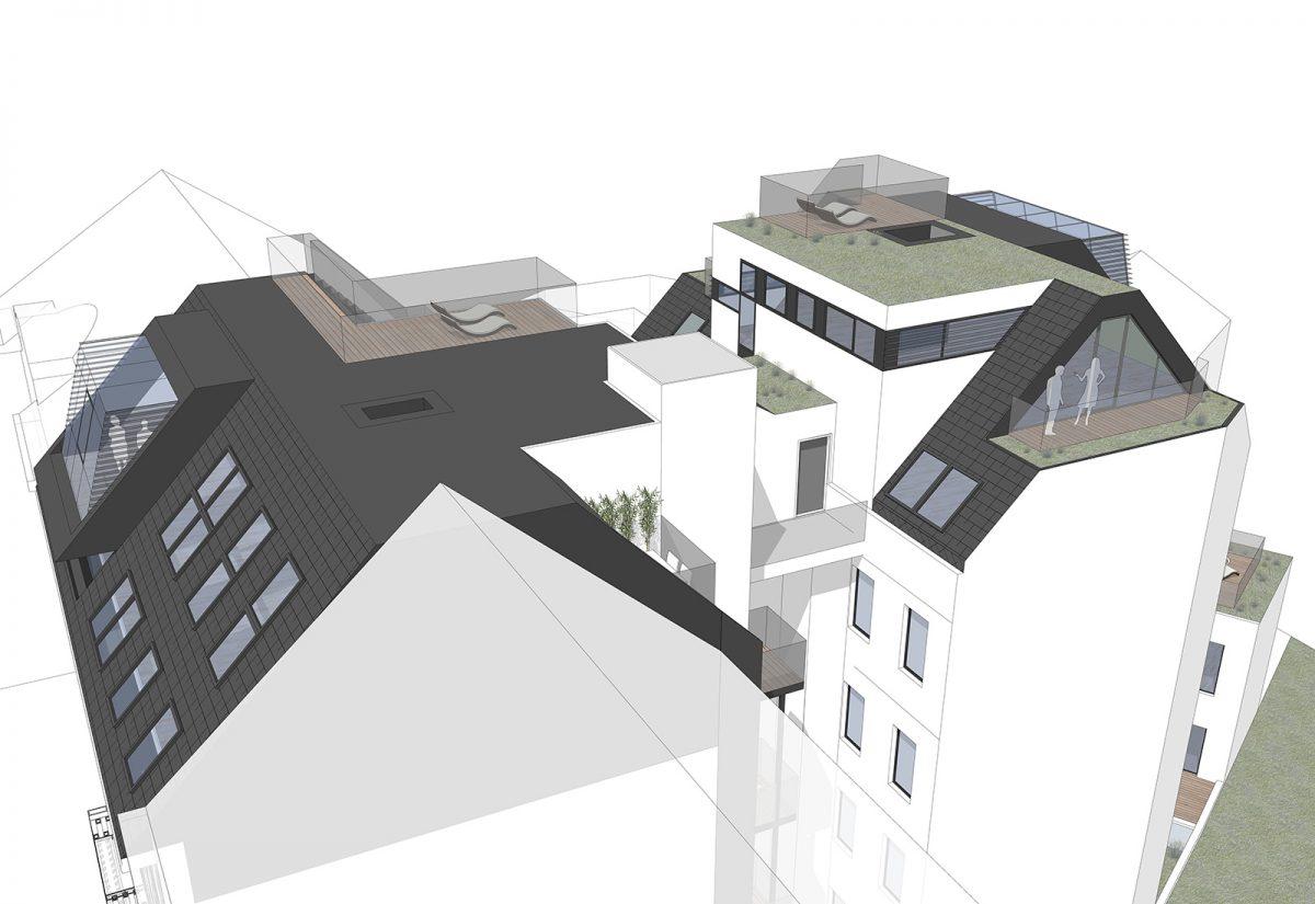 Sanierung / Dachausbau 1150